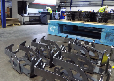 Formed Components in Press Brake Centre