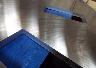 Laser Cut 20mm Aluminium